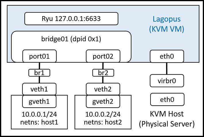 5  Lagopus software switch on KVM Virtual Machine — Lagopus software