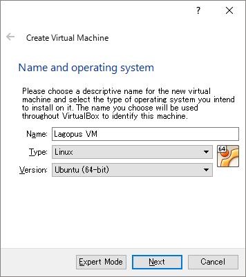 10  Appendix: Installing Lagopus vswitch on VirtualBox VM